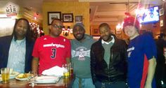 Meeting up at Carmine's Italian restaurant in Chinatown before the Wizards defeated the Minnesota Timberwolves on Tuesday night. We enjoyed free appetizers courtesy of the Wizards which included some awesome Italian favorites. Food & Drink specials were also available at Happy Hour including Peroni on draft, a favorite of the crew. Here are all the details...