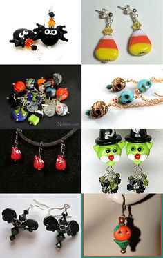 It was a dark and stormy Halloween night ........frightfully beautiful SRAJD by Ronni on Etsy--Pinned with TreasuryPin.com