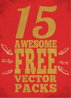 15 Awesome Free Vector Packs