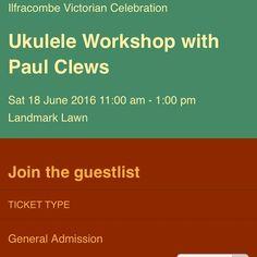 Free #Ukulele #Workshop at #Ilfracombe #NDevon #NorthDevon #Devon #ukuleleworkhop #UkuleleLessons #Uke #UkeWorkshop #ukelessons #ilfracombevictorianweek #ilfracombevictoriancelebration #ukelele #ukeleleworkshop #ukelelelesson #livemusic #music #musicworkshop #musiclessons #North_Devon #landmarktheatre