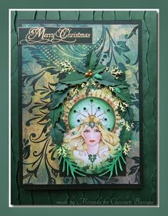 'Mir'acle Art Inspirations: More Christmas with Chocolate Baroque
