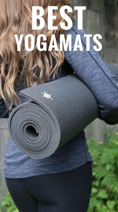 Kurma Yoga Mats are the best yoga mats! Made in Germany, non-toxic, the best for protecting your joints and maintaining stability and grip... Plus they last forever! No wonder my teacher raves about hers! #bestyogamat