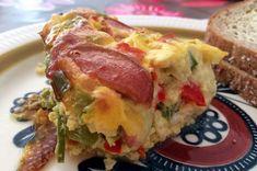 Ovnsbakt omelett Quiche, Breakfast, Food, Omelette, Morning Coffee, Meal, Essen, Quiches, Eten