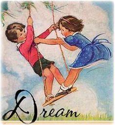 Vintage children's illustration