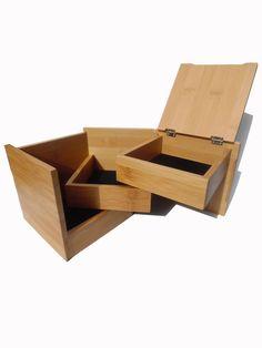 JEWELRY BOX BAMBOO FUN CUBE