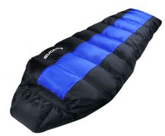 Duck Goose Down Sleeping bag Camping Hiking Cold Winter Quilt Outdoor Sheet