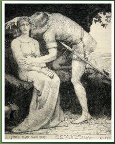 Thomas Cooper Gotch  La Belle Dame Sans Merci (Keats)