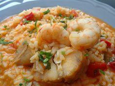 Shrimp Dishes, Portuguese Recipes, Finger Foods, Seafood Recipes, Kids Meals, Crockpot Recipes, Dessert Recipes, Food And Drink, Tasty