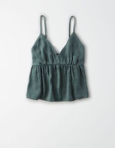 AE Silk Babydoll Cami Source by americaneagle clothes 2019 Trendy Outfits, Summer Outfits, Cute Outfits, Fashion Outfits, Diy Clothes, Clothes For Women, Clothes 2019, Jugend Mode Outfits, Cute Tops