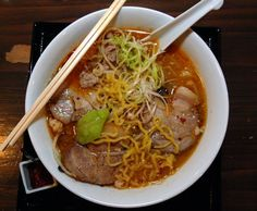 Most people know ramen as a cheap college meal -- the instant pasta in a plastic packet or foam cup that's prepared in minutes. But real ramen i. Real Ramen, Traditional Ramen, Soup Recipes, Cooking Recipes, Cooking Tips, Ramen Soup, Ramen Noodles, Japanese Dishes, Japanese Ramen