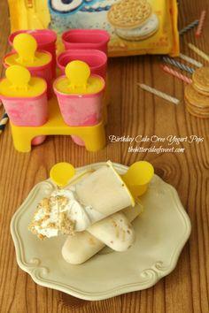 Birthday Cake Oreo Yogurt Pops - theBitterSideofSweet