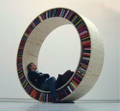 I wish I could have one of these 10 Amazing Chairs for Book Lovers | Design on GOOD