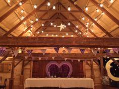 wedding reception in rustic barn Dallas, TX