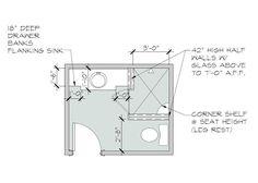 Bathroom Designs No Tub small master bathroom floor plans with no tub designs ~ http