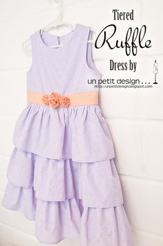 Cute tutorial using a store-bought bodice pattern to start.  The ruffles are all you...  Nice way to adapt.