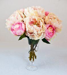 Pink peony - Artificial arrangement