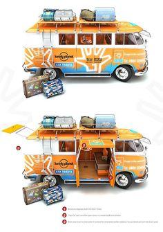 itoi Volkswagen camper van