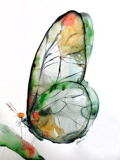 by Alisa Adamsone #watercolorarts