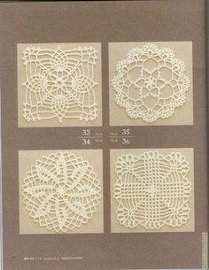 Crochet Knitting Handicraft: crochet patterns ~ great blog, tons of vintage patterns, charts, etc.