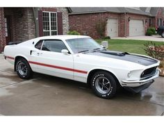 1969 Ford Mustang Mach 1 - My pops has this exact one