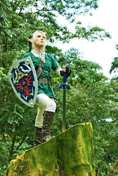 Link (from Zelda: #OoT) cosplay by Molecular Agatha from Costa Rica   #crossplay
