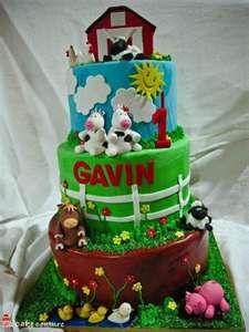 Barnyard Birthday - Cake ideas
