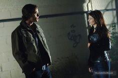 Supernatural - Publicity still of Jared Padalecki & Genevieve Padalecki
