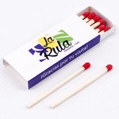 """Cajas de Cerillas modelo """"Hotel"""" para Heladería La Rula. Personal Care, Templates, Match Boxes, Advertising, Self Care, Personal Hygiene"""