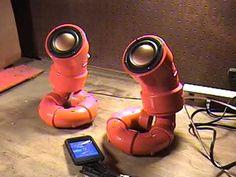 "ikyaudio ""Red Lobesters"" DIY Handmade Audio Speakers with 3"" full rangedrivers - YouTube"