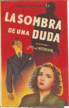 Programa de Cine - La Sombra de una Duda