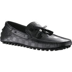 Louis Vuitton Imola Loafer In Damier Embossed Leather.Please click picture to buy and get more detail. Lv Shoes, Boat Shoes, Me Too Shoes, Shoe Boots, Nike Shoes, Roshe Shoes, Nike Roshe, Shoes Men, Dress Shoes