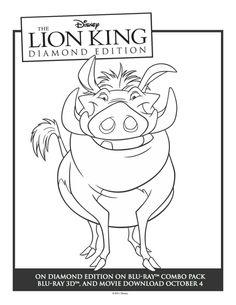 un joli coloriage sur le roi lion viens colorier simba