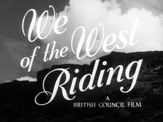 We of the West Riding by British Council Film. Exploring the daily life of a large family in Yorkshire, 'We of the West Riding' shows both their work at the textile mills and their varied leisure pursuits. British History, British Council, Movie Captions, Living In England, East Yorkshire, Where The Heart Is, Cars And Motorcycles, Over The Years, Childhood Memories