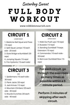 Workout Graphic to Pin Later