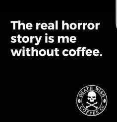Death Wish Coffee Company is the top online coffee-seller of fair-trade, organic, high-caffeine blends, and we have the world's strongest coffee! Coffee Wine, Coffee Talk, Coffee Is Life, I Love Coffee, Black Coffee, My Coffee, Coffee Drinks, Morning Coffee, Coffee Lovers