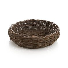 A must-have for serving dinner rolls or biscuits: Hearth Bread Basket  | Crate and Barrel