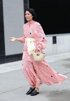 Pin for Later: Les Meilleurs Looks Street Style de la New York Fashion Week New York Fashion Week, Jour 1 Rachel Wang.