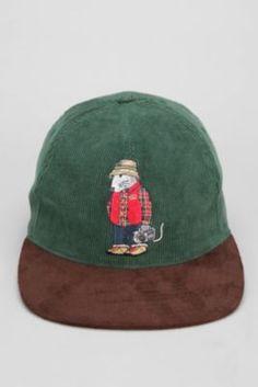 8443f2e6314 Stussy Rat Corduroy Snapback Hat