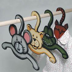 11-107 - Animal Hangers Scroll Saw Pattern