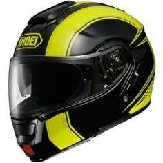 The Graphic in the Neotec series. The Borealis TC3 Black / Yellow graphic really makes you noticed on the roads with it's fluorescent properties.