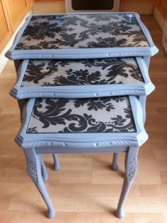 Repainting Furniture, Painted Furniture, Furniture Makeover, Furniture Ideas, Repurposed Furniture, Queen Anne, Vanity Bench, Dorm Room, Projects To Try