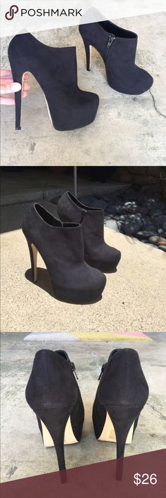 ASOS Shoe Boots - like new! Worn once for a short period of time. Like new condition with minimal wear on tread. No scuffs to heals. Comes in original box! Asos Shoes Ankle Boots & Booties