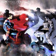 Clash of Super Heroes: 20 Superman vs. Batman Artworks
