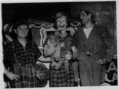 Harold Voise, Clown with animal, Jack Voise