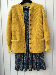 Charlotte Cardigan pattern by Carrie Bostick Hoge Crochet Jacket, Knit Jacket, Knit Crochet, Knitting Stitches, Knitting Designs, Hand Knitting, Cardigan Pattern, Jacket Pattern, Cardigan Design