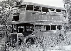 Image result for derelict rt buses Abandoned Vehicles, Abandoned Cars, Rt Bus, Routemaster, Rusty Cars, Bus Coach, London Bus, London Transport, Houseboats