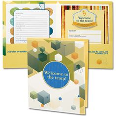 Welcome to the Team Pocket Folder Volunteer Management, Welcome To The Team, Church Ministry, Church Nursery, Staff Appreciation, Christian Gifts, Pocket, Nursery Ideas, Scrap