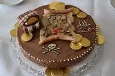 Piratentorte von Karin Wissinger beim Tortenwettbewerb von www.cake-company.de