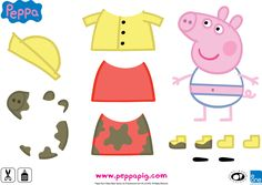 Print out these fantastic Peppa Pig activities and keep your kids entertained with craft, cooking and colouring during the school holidays. Printable Activities For Kids, Rainy Day Activities, Toddler Activities, Peppa Pig Printables, Kid Printables, Peppa Pig Muddy Puddles, Cumple Peppa Pig, Peppa Pig Family, Baby Diy Projects