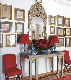 Chinoiserie Chic in Blue & Red...